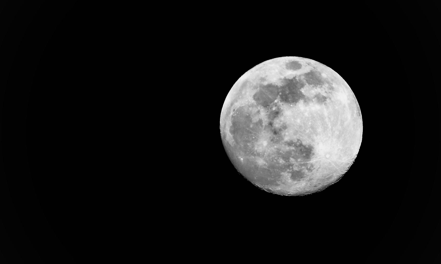 Mondsüchtig.