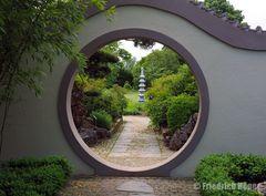 Mondtor im Chinesischen Garten