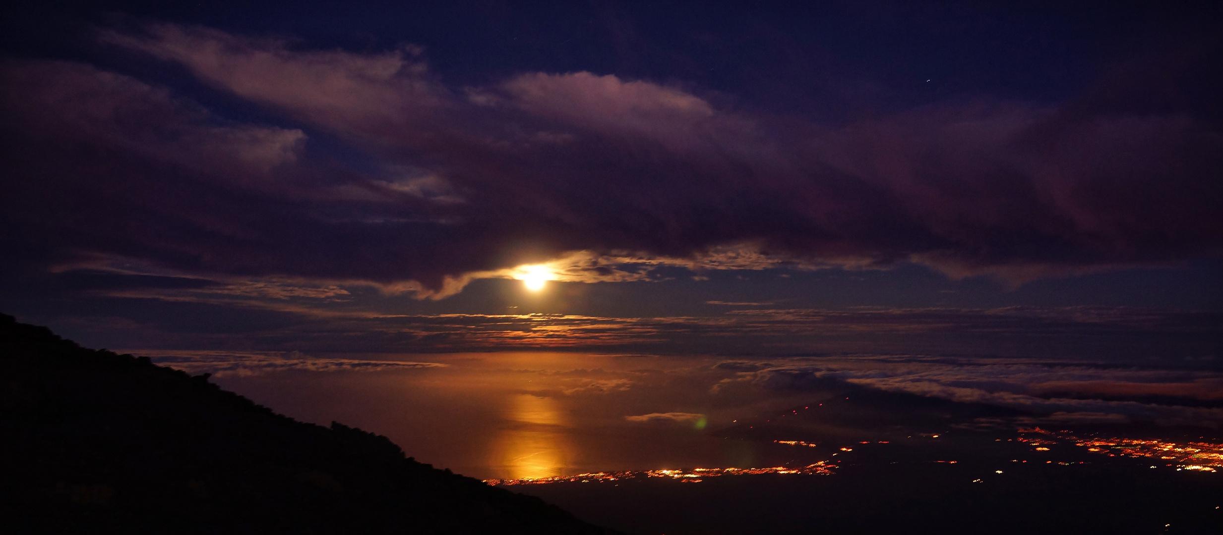 Monduntergang Maui