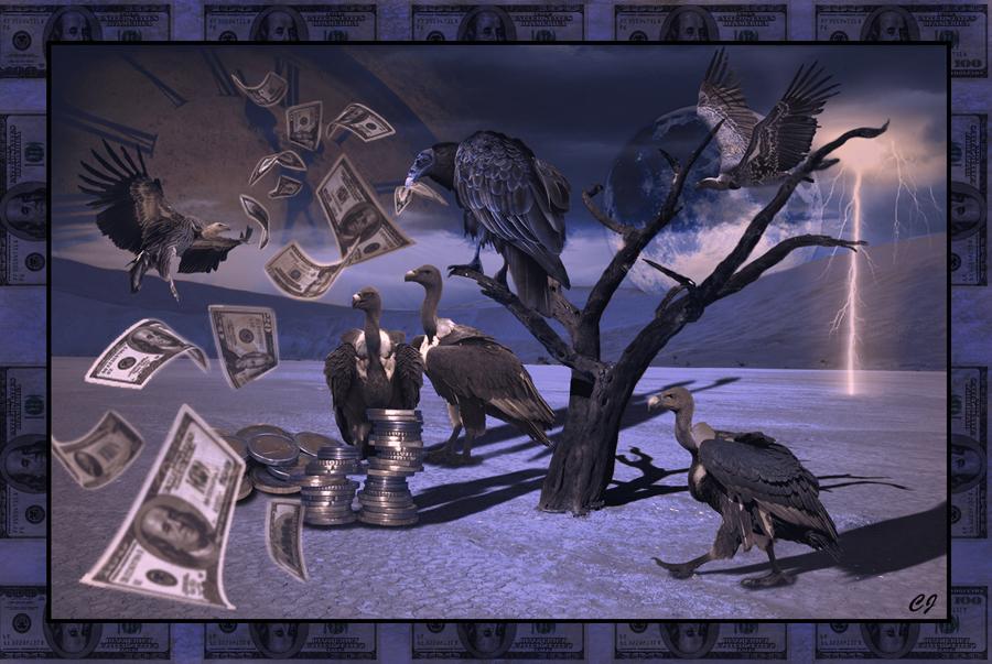 Money, money, money....must be funny