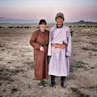 Mongolia  - nomad couple