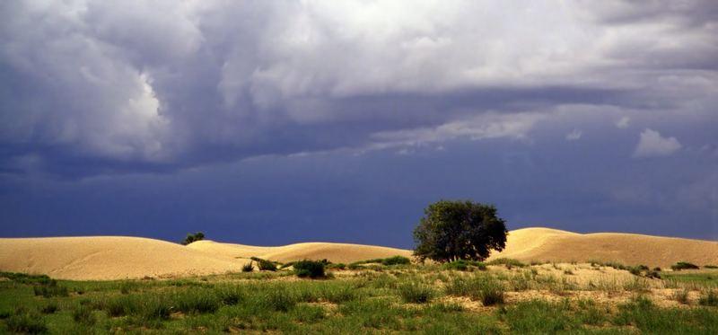 Mongolia - Thunderstorm