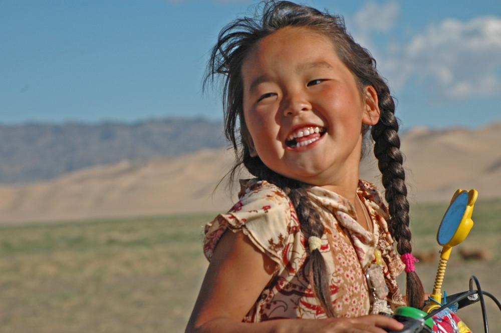 Mongolian Girl 2