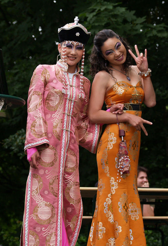Mongolische Schönheiten