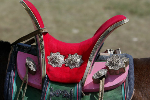 Mongolischer Sattel