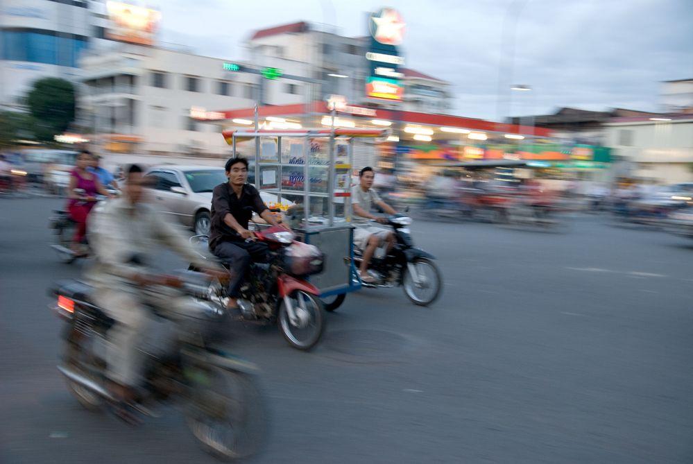 Monivong Boulevard, Phnom Penh, Cambodia