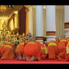 Monks praying