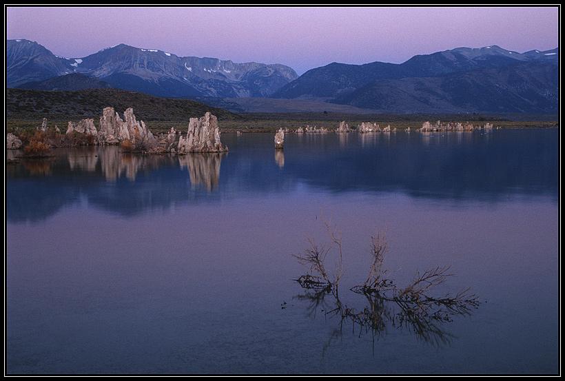 Mono Lake vor Sonnenaufgang