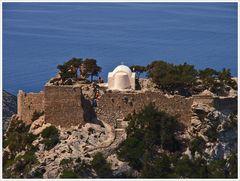 Monolithos - Festung und Kapelle