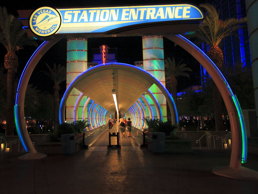 Monorail Station Entrance