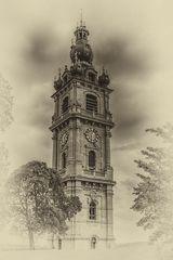 Mons Belfried (alte Photoplatte)