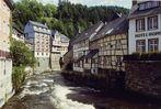 Monschau in der Eifel, im Sommer vor 33 Jahren.......