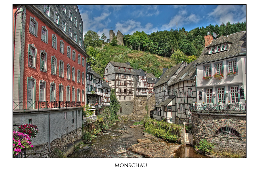 Monschau - Rotes Haus -