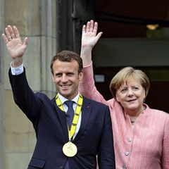 Monsieur Le Président Emmanuel Macron . . .