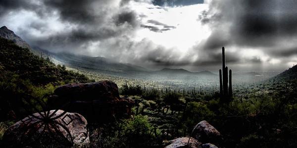 monsoon storm in Arizona