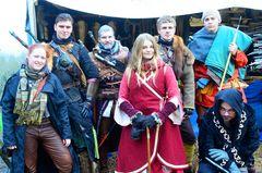 Monsterjäger auf dem mittelalterlichen Weihnachtsmarkt der Ronneburg
