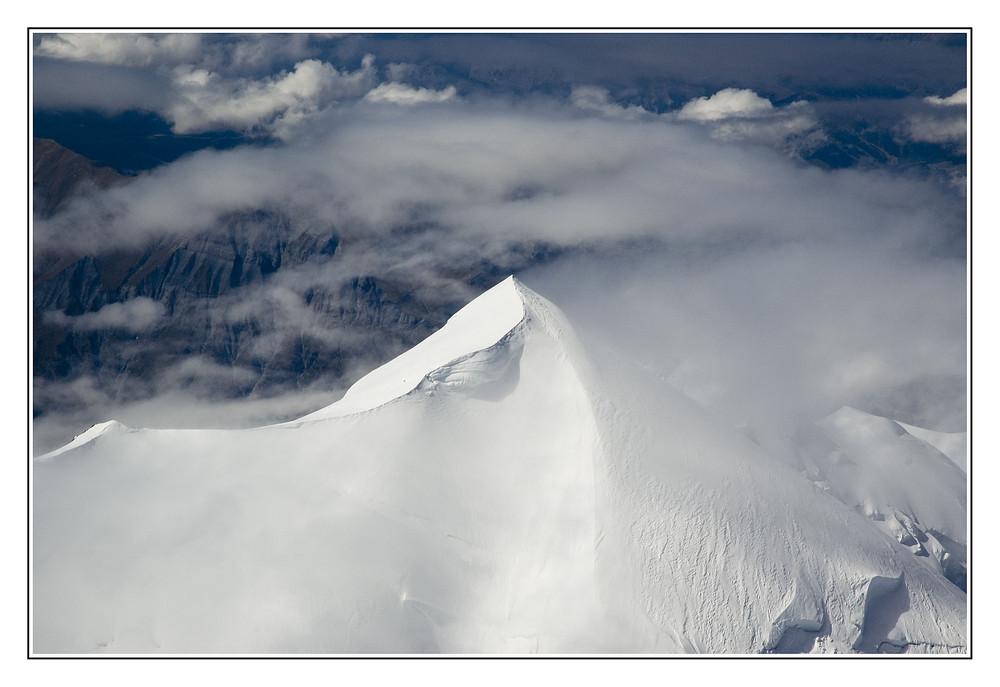 Mont Blanc - Der Bossesgrat