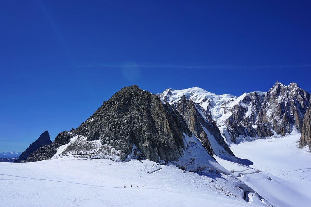 Mont-Blanc und Tour Ronde