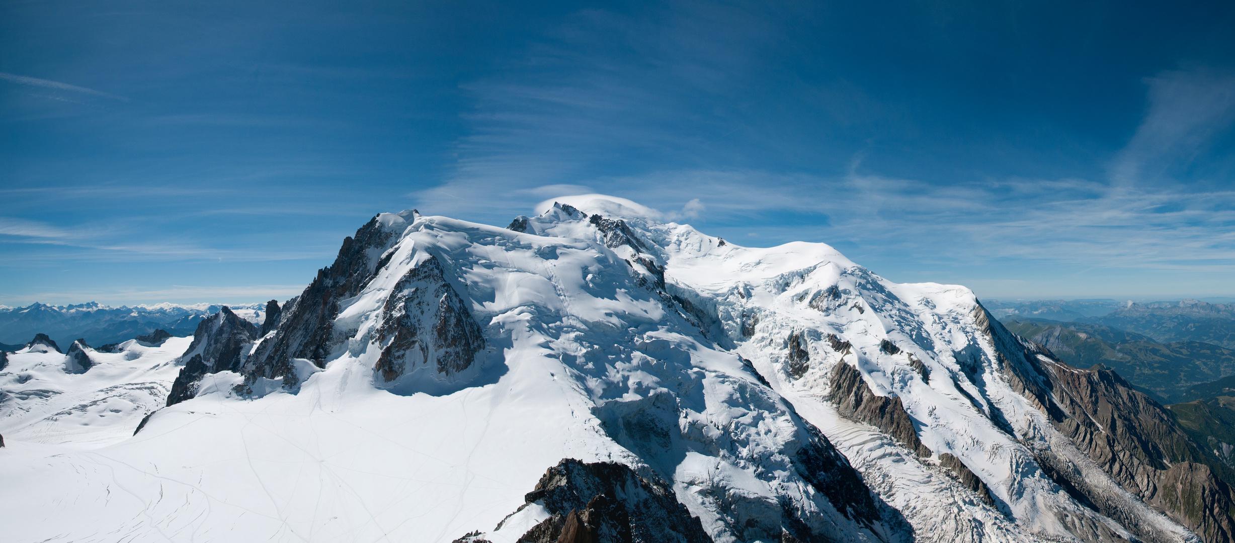 Mont Blanc (vom Aiguille du Midi)