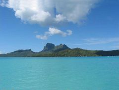 Mont Otemanu Bora Bora  (Westseite / Vaitape)