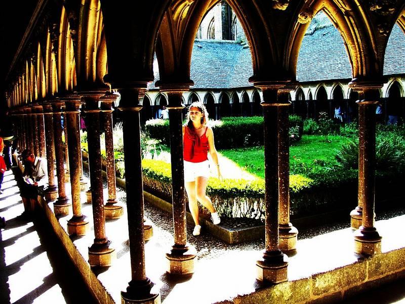 Mont Saint Michel für's Familienalbum...