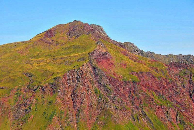 Montaña de terciopelo