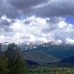 montaña del cadi desde seo d'urguell