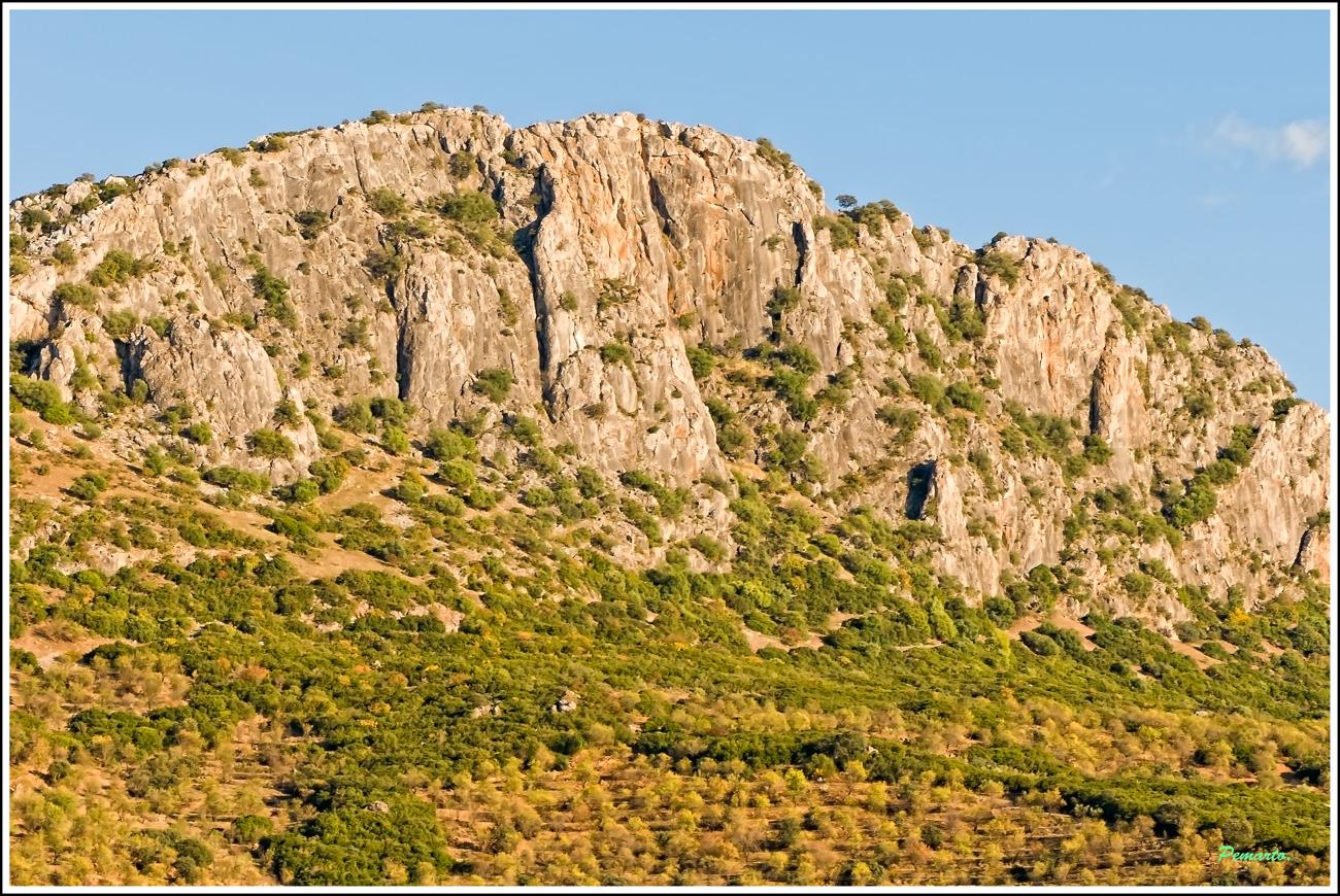 Montaña la Sierra del Castillo. Espiel