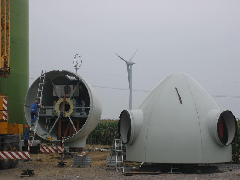 Montage des Generators