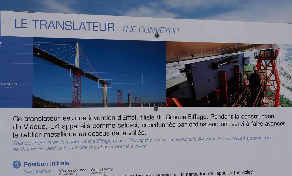 Montage des Tarn-Viaduktes, - II.