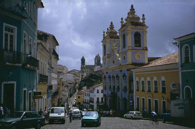 Montagmorgen in Salvador da Bahia / Pelourinho
