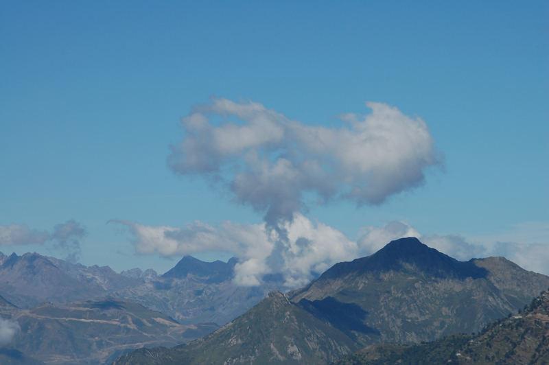 Montagne fumante