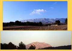 Montagne Ste Victoire (ou en occitan provençal : Mont Venturi )