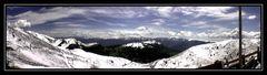 Monte Baldo (ca. 1700 m) am Gardasee :-)