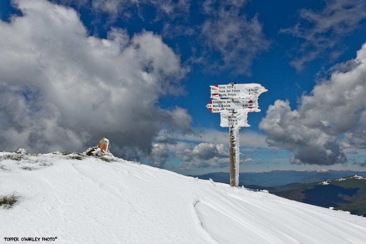 Monte Orsaro - Segnavia