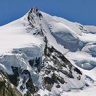 Monte Rosa Gipfel  mit der 4634m hohen Dufourspitze rechts als 270 mm Telepanorama
