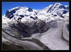 Monte Rosa Gletscher