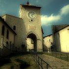Monteleone di Spoleto - Torre dell'orologio