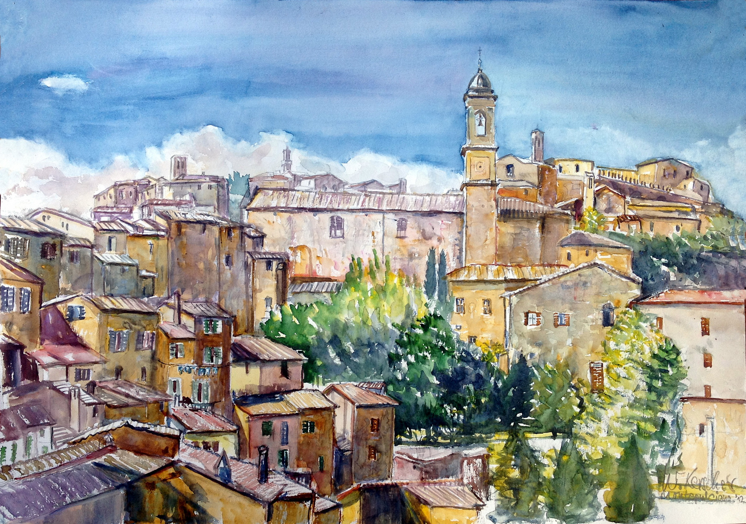Montepulciano - Toskana