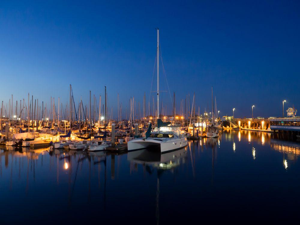 Monterey Hafen