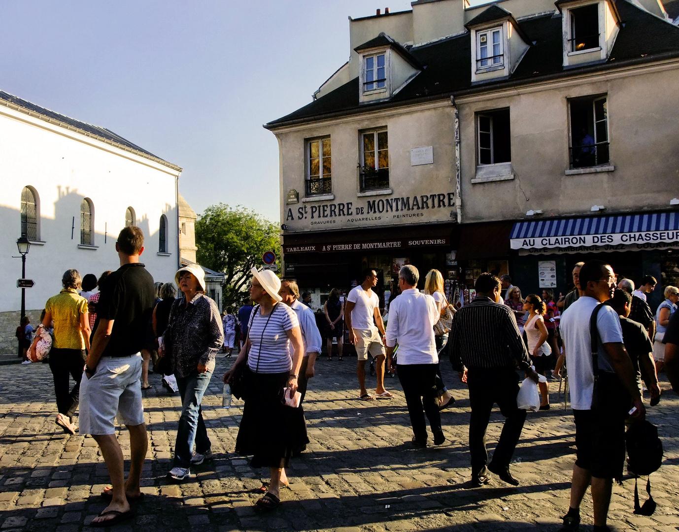 Montmartre à l'assaut