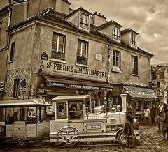 Montmartre . . . im 21. Jahrhundert