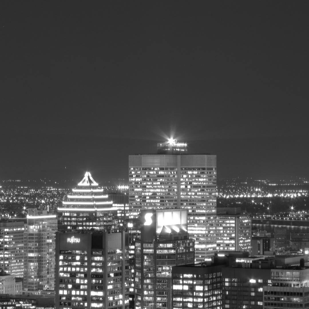 Montréal bei Nacht