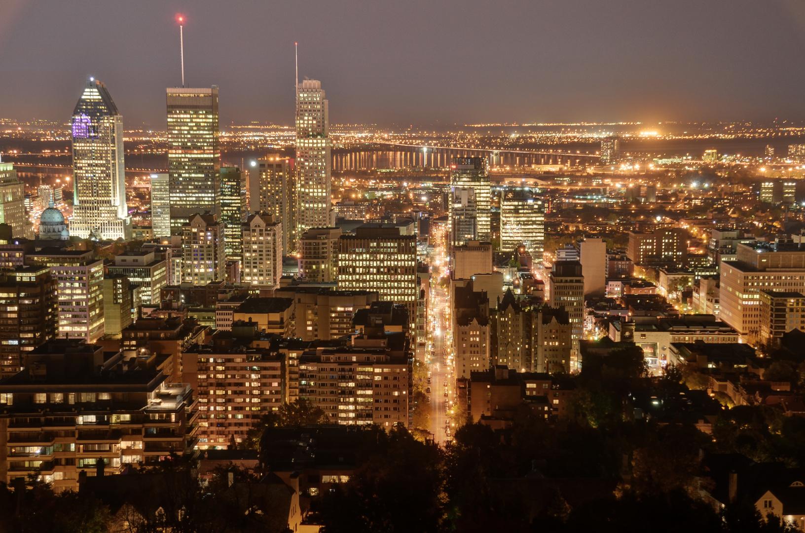 Montreal bei Nacht