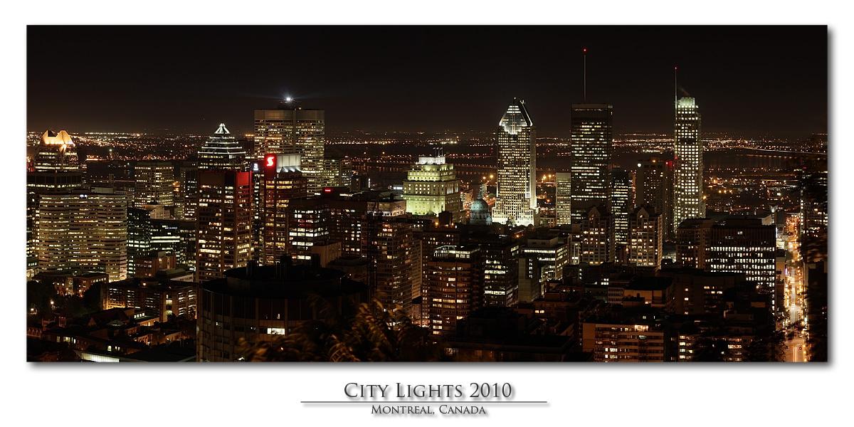 Montreal City Lights 2010