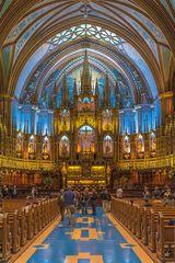 Montreal Quebec Basilika Notre-Dame