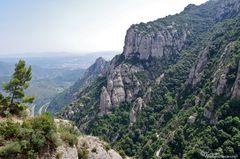 Montserrat - Aussicht