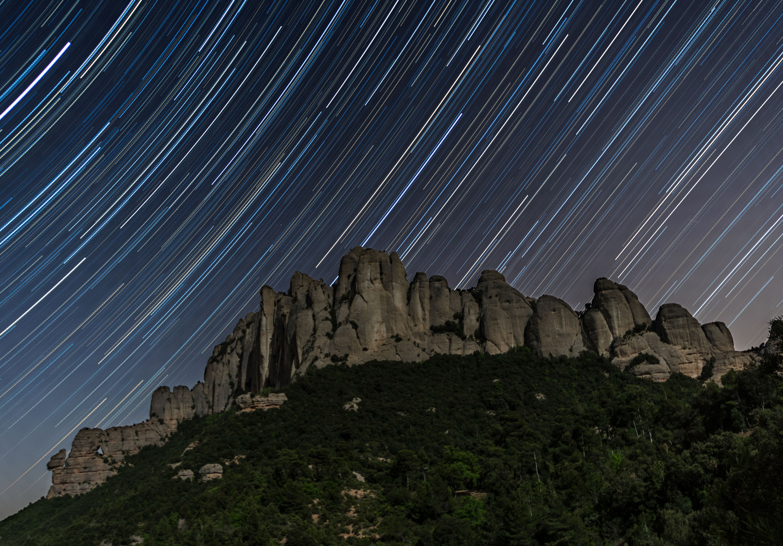 Montserrat cara nord-oest