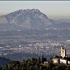 Montserrat vista desde Collserola
