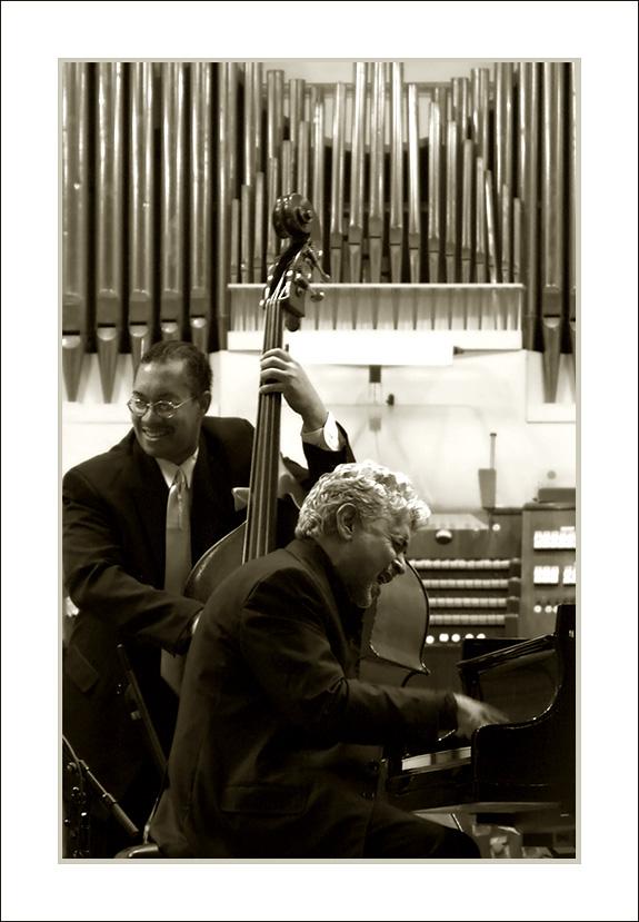 Monty Alexander und Hassan Shakur